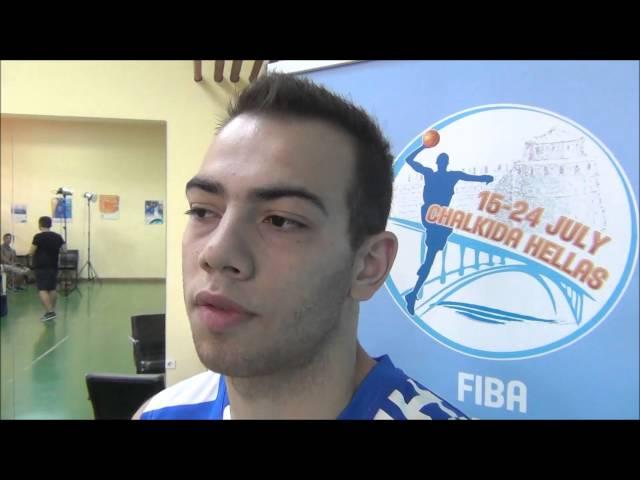EOK | Εθνική Νεών Ανδρών : Μουράτος και Χαραλαμπόπουλος για την πρεμιέρα του Ευρωπαϊκού στην Χαλκίδα