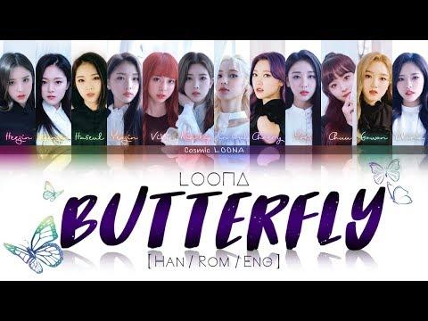 LOONA - Butterfly LYRICS [Color Coded Han/Rom/Eng] (LOOΠΔ/이달의 소녀)