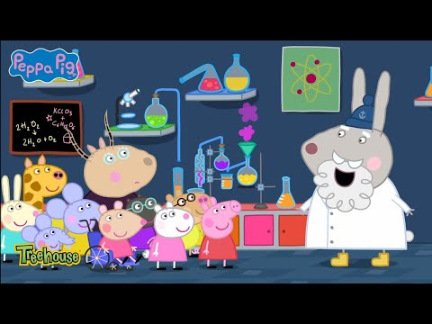 Peppa Pig | Science MuseumClip | Treehouse