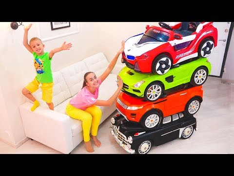 Magic Little Driver ride on Toy Cars and Transform car for k
