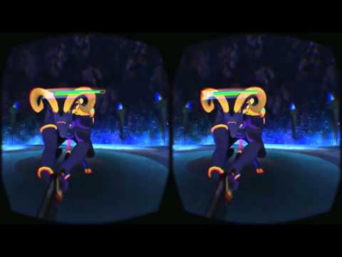 Sword Art Online (SAO) - демо геймплея для шлема виртуальной реальности Oculus Rift | VRMMO.RU