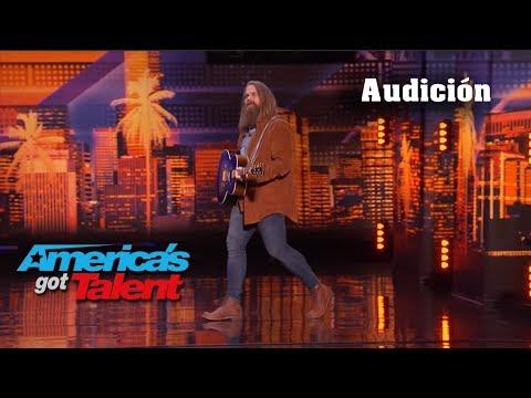 """Chris Kläfford Sings """"Imagine"""" At America's Got Talent Audition 🧔👏👏"""
