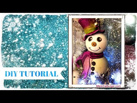 DIY Christmas Decorations | Winter Snowman Room Decor  | ⛄ 🎄