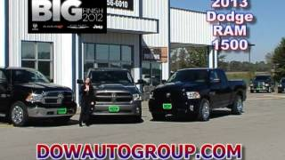2013 Ram 1500 V6 Pentastar with Torqueflight 8 Transmission