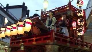 東海道 吉原宿 祇園祭