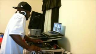 DJ DELLMATIC MIXING SOME HIP-HOP CLASSICS!!