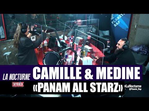 Youtube: [Inédit] Camille Lellouche & Médine – Freestyle«Panam Hall Starz» #LaNocturne
