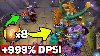 DOTA UNDERLORDS (+999% DAMAGE! YOU HAVE NEVER SEEN THAT - 8 BLOOD BOUND)