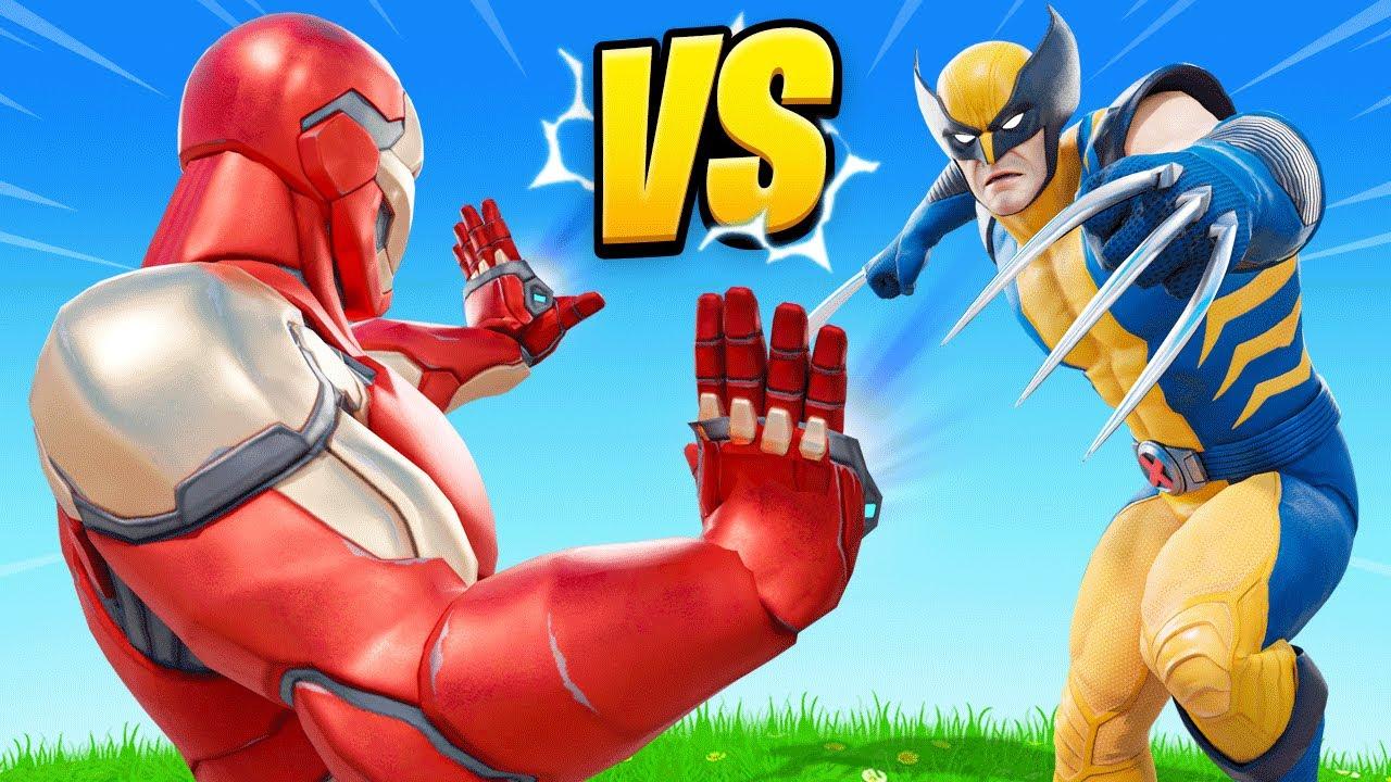New SUPERHERO BATTLE Challenge in Fortnite!