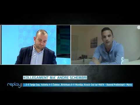 Andre Schembri  -  NET TV REPLAY 28-01-18