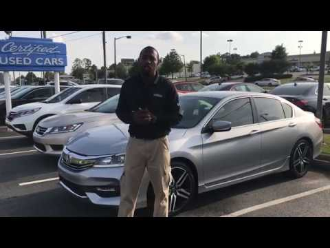 2017 Honda Accord Sport For William From Pat Level At Tameron In Birmingham