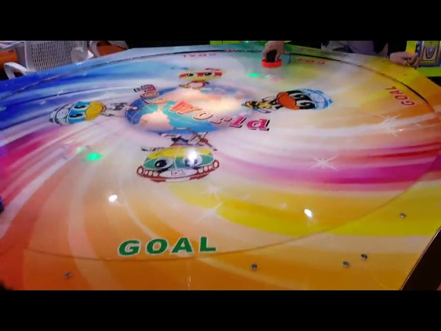 colorful world hocky 6player