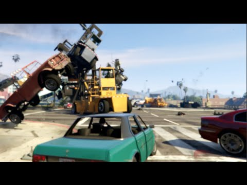 GTA 5 MODS Car Cannon - NOW THATS A 187!