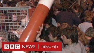 Bức tường Berlin: Cả chế độ canh 28 năm, sập trong một đêm - BBC News Tiếng Việt