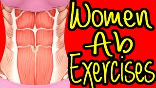 Women Ab Exercises. Women Ab Workouts At Home