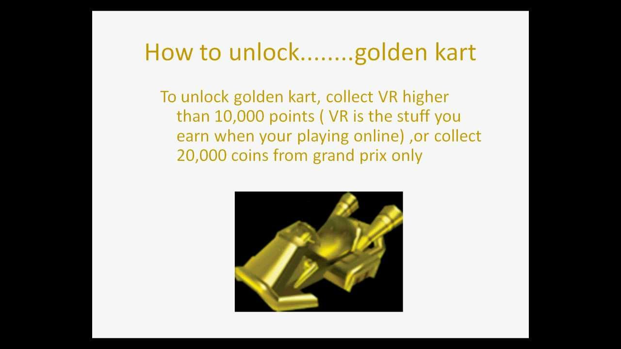 Mario Kart 7 How To Get All Golden Parts Youtube