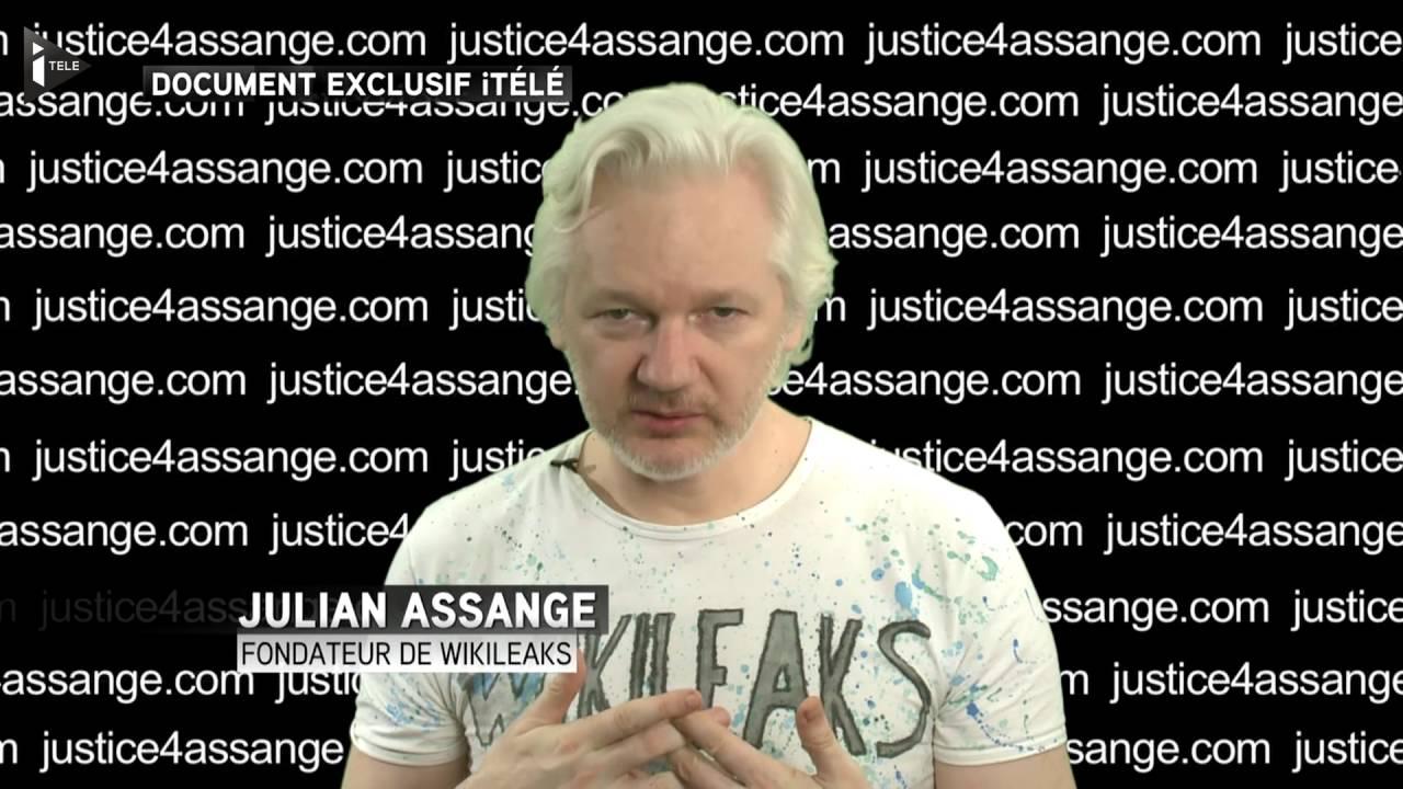 """Download Julian Assange: """"François Hollande est une escroquerie"""""""