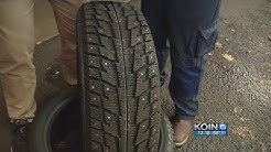 Should Oregon drivers use studded tires?