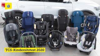 TCS-Kindersitztest 2020 - Teil 2