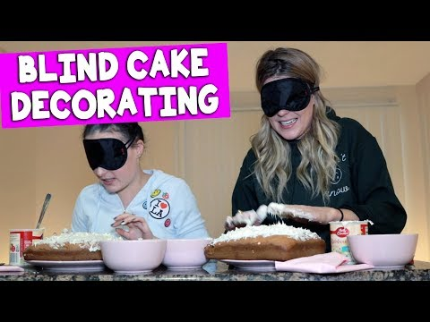 Download Youtube: BLIND(folded) CAKE DECORATING CONTEST (with Molly Burke) // Grace Helbig