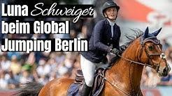 Tochter von Till Schweiger beim Global Jumping Berlin erfolgreich! 🤩 | Luna Schweiger & Takuma Son