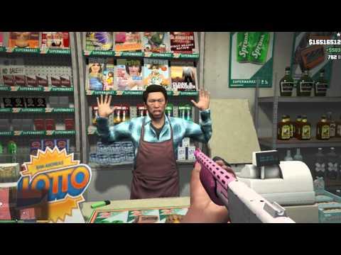 GTA 5 На PC - Ограбление магазина