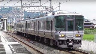 JR四国 予讃線 端岡駅 快速マリンライナー通過