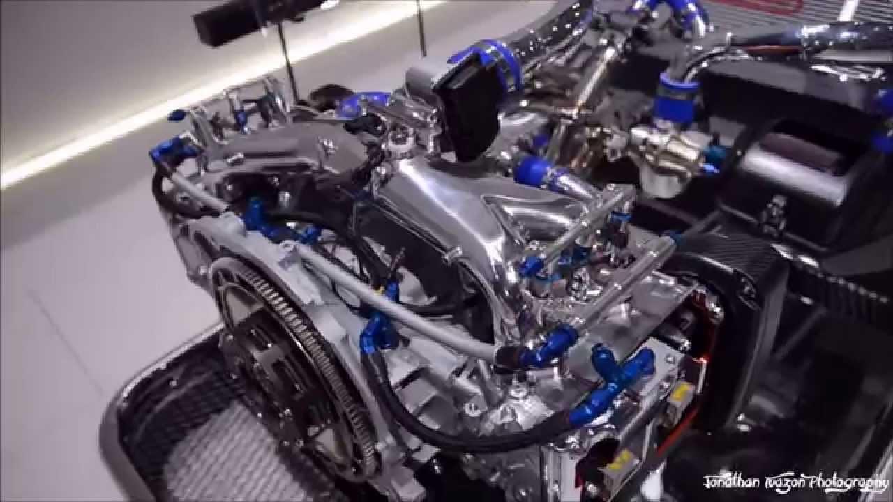 Subaru Gt300 Ej20 Motor For 2016 First Look Youtube