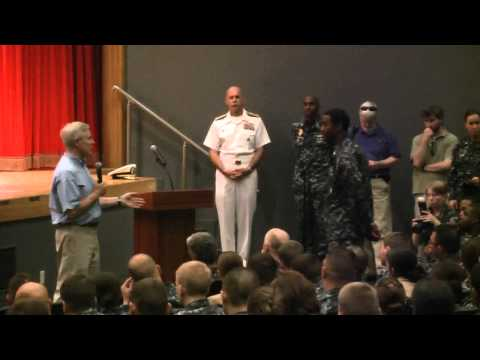 Secretary of the Navy Ray Mabus All Hands Call with CFAY Community