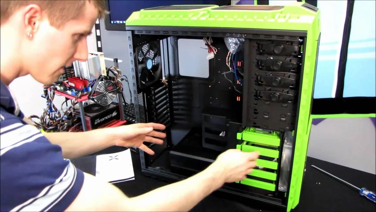 8e1fecc3ff Cooler Master HAF X NVIDIA Edition Gaming Computer Case Unboxing ...