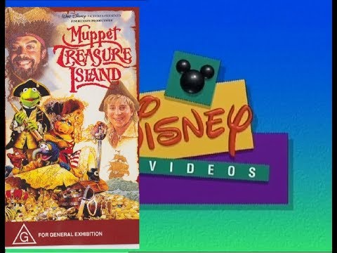 Opening And Closing To The Muppets Treasure island 1999 VHS Australia