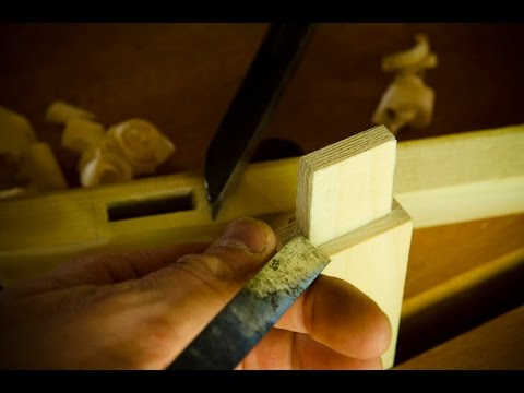 How To Make Mortise And Tenon Joints With Hand Tools
