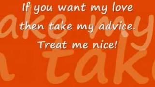 Elvis Presley - Treat Me Nice With Lyrics (: