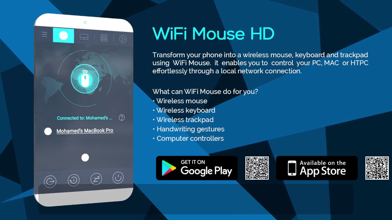 Wifi Mouse App Presentation