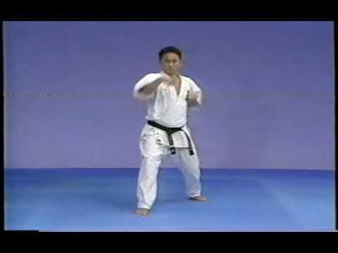 Karate kyokushin kata  taikyoku  1,2 and 3