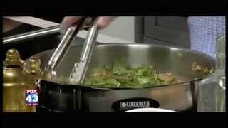 Preparing A Vegetarian Entrée In The Fox43 Kitchen (2 Of 3)