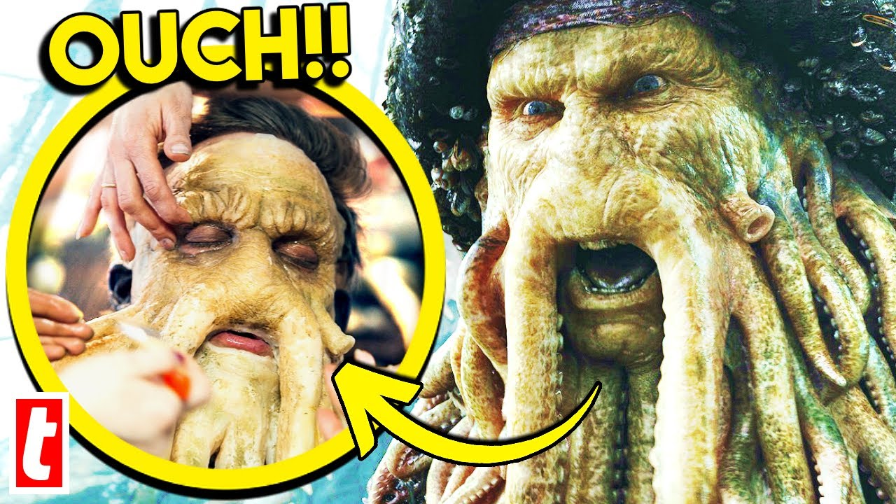Download Actors Painful Prosthetics In Pirates Of The Caribbean