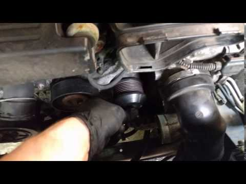 2003 Mercedes C230 M271 Supercharger Bearing Bad