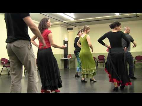 Flamenco Utrera - Utrecht - Beginners class - 2010