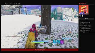 Fortnite battle royal season 9 trying to get a win with friend