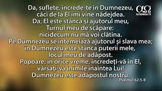 Psalmul 62: 5-8