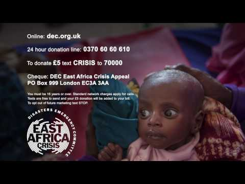 DEC - Africa Famine Appeal  2017