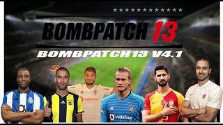 BOMBPATCH13 - V4.1 ÇIKTI - Pes 2013 Transfer ve Grafik Yaması - Tanıtım Ve Kurulum Videsou !
