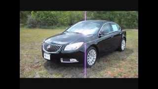 2012 Buick Regal Black