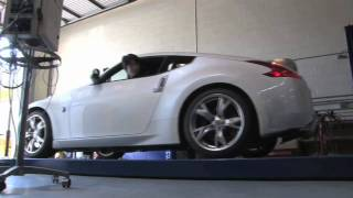 Nissan 370Z 7-Speed Automatic On the Dyno