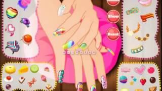 Бесплатные игры онлайн  Candy Manicure Games  Салон красоты, делаем маникюр игра(Бесплатные игры онлайн. Только хитовые, популярные игры. http://stroykaglobal.ru Коллекция увлекательных игр для маль..., 2014-09-01T10:08:29.000Z)
