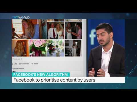 Facebook changes its algorithm and news feed, TRT World's Riyaad Minty weighs in