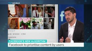 Facebook changes its algorithm and news feed, TRT World