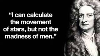 Sir Isaac Newton Life History in Tamil and Motivational Video