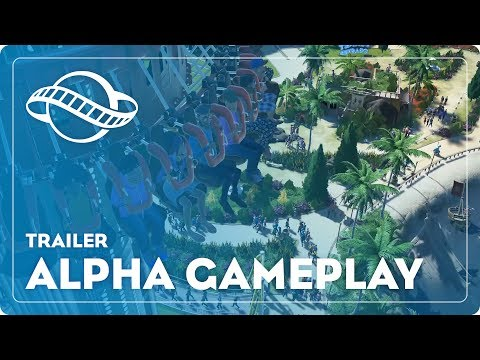 Planet Coaster Gameplay Trailer